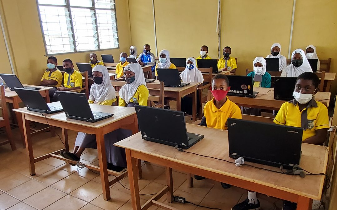 VEC Pays It Forward with Laptop Donations